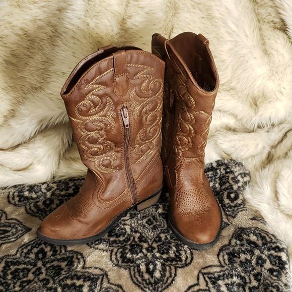 dc6d0092347 Cat & Jack CowGirl Boots ( Little girls)